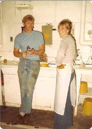 Richard Norton and Suzanne Kaido