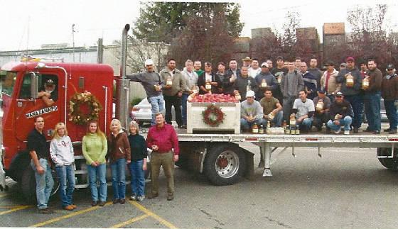 Manzana crew December 2008